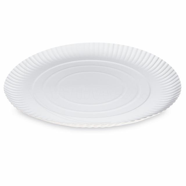 Fotografie Papírový talíř hluboký Ø 34 cm [50 ks]