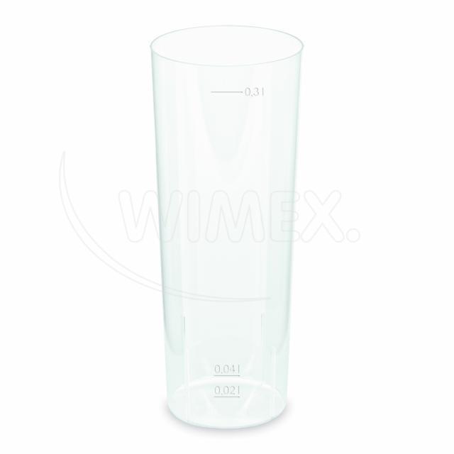 Kelímek vratný na LONGDRINK 4 cl / 0,3 l (PP) [10 ks]