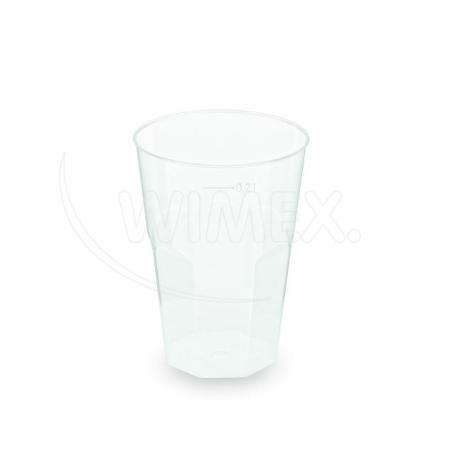 Kelímek vratný na koktejl 0,2 l (PP) [25 ks]