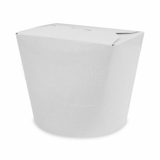 Food box bílý 750 ml (26oz) [50 ks]