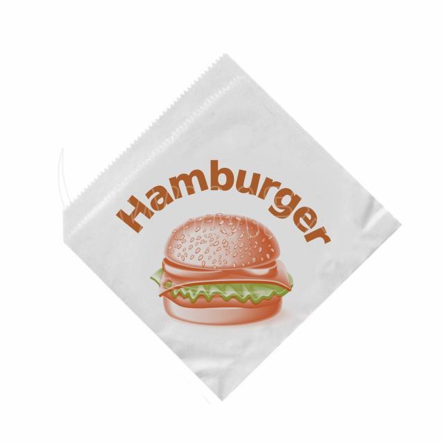 Sáček na hamburger 16 x 16 cm [500 ks]