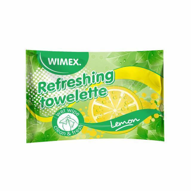 Osvěžující citronový ubrousek [250 ks]