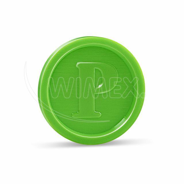 Žeton zelený [100 ks]