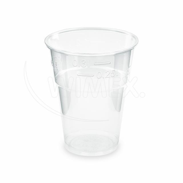 Kelímek průhledný 0,3 l (PLA) -BIO- (Ø 85 mm) [10 ks]