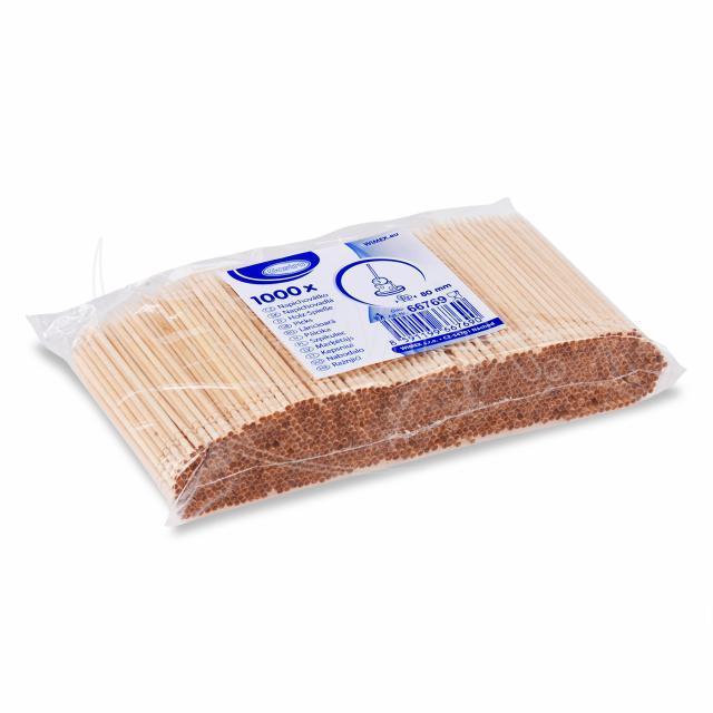 Dřevěné napichovátko Ø 2,5 x 80 mm [1000 ks]