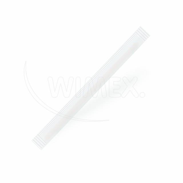 Míchačka na kávu ze dřeva hyg. balené v papíru 14 cm [500 ks]