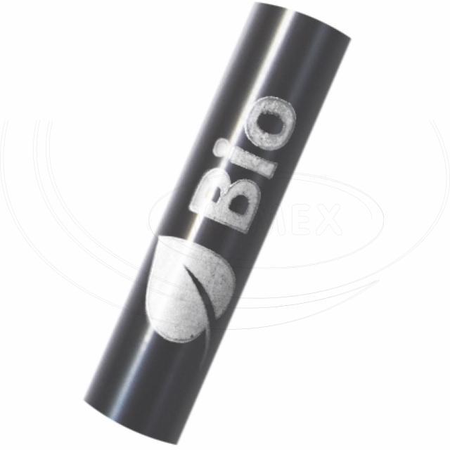 Slámka JUMBO černá (PLA) -BIO- 25 cm, Ø 8 mm [150 ks]