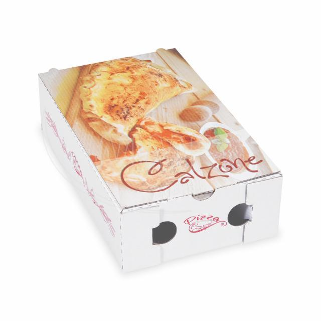Krabice na pizzu CALZONE 28 x 17 x 7,5 cm [100 ks]