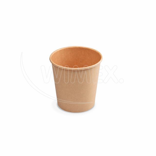 Papírový kelímek hnědý 110 ml, XS (Ø 62 mm) [50 ks]