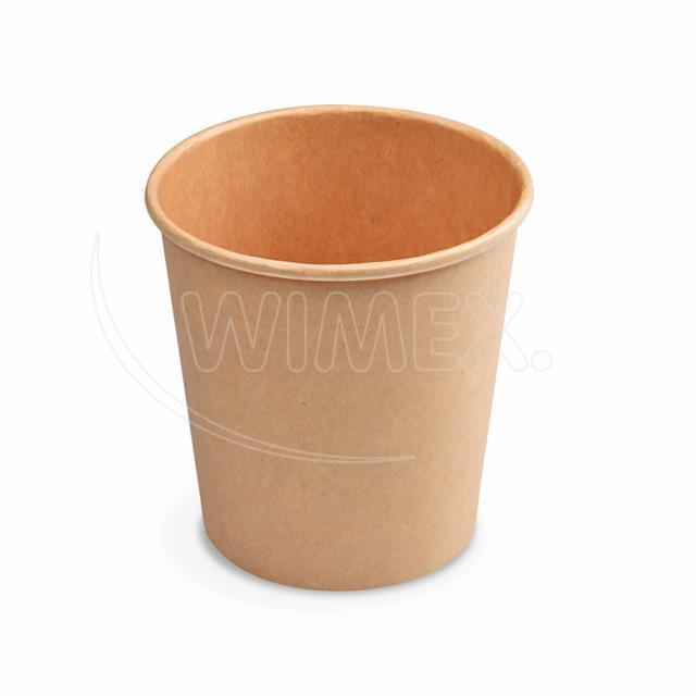 Papírová miska kulatá hnědá 750 ml, L (Ø 115 mm) [50 ks]