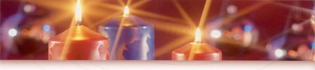 Svíčka válcová Ø 60 x 120 mm tmavě modrá [1 ks]