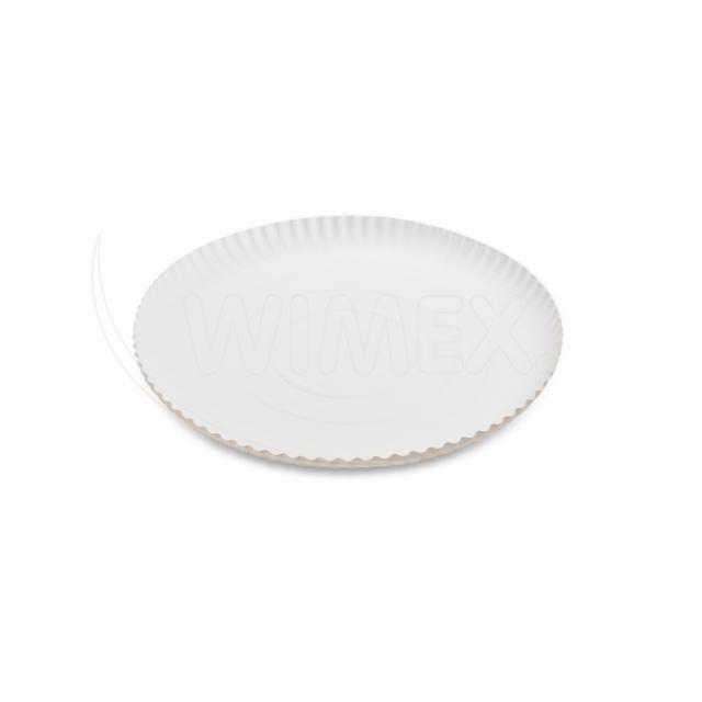 Papírový talíř hluboký Ø 24 cm [50 ks]