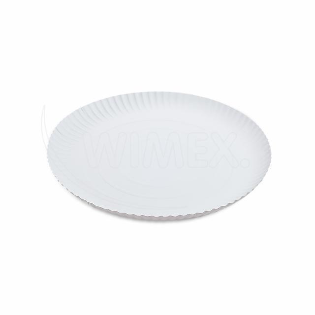 Papírový talíř hluboký Ø 28 cm [50 ks]