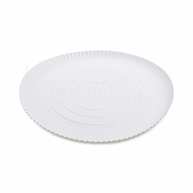 Papírový talíř hluboký Ø 32 cm [50 ks]