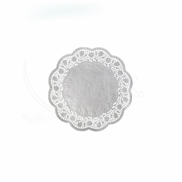 Dekorativní krajka kulatá Ø 10 cm [500 ks]