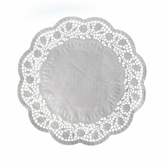 Dekorativní krajka kulatá Ø 36 cm [100 ks]