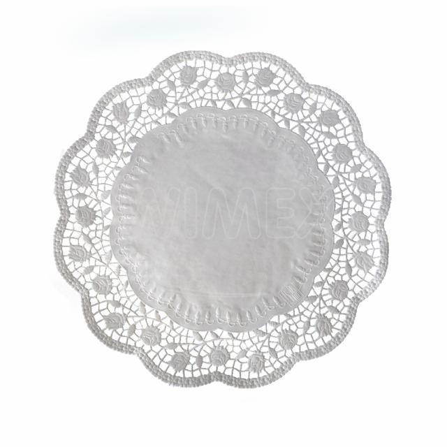 Dekorativní krajka kulatá Ø 34 cm [100 ks]