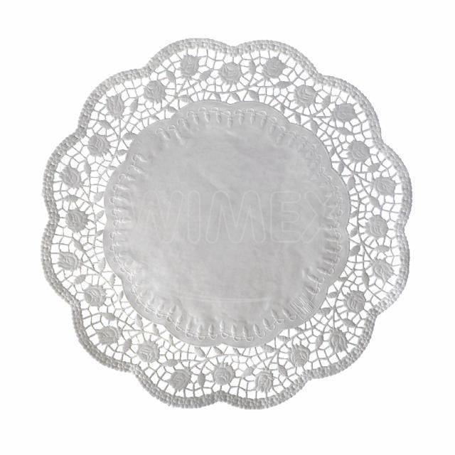 Dekorativní krajka kulatá Ø 38 cm [100 ks]
