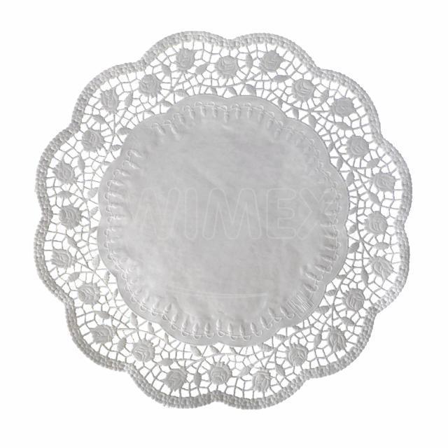 Dekorativní krajka kulatá Ø 40 cm [100 ks]
