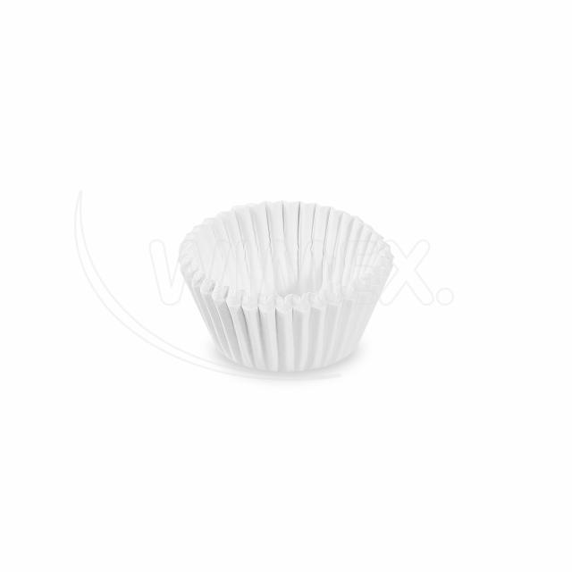 Cukrářský košíček bílý Ø 24 x 18 mm [1000 ks]