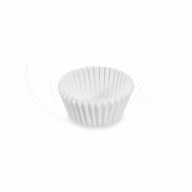 Cukrářský košíček bílý Ø 28 x 16 mm [1000 ks]