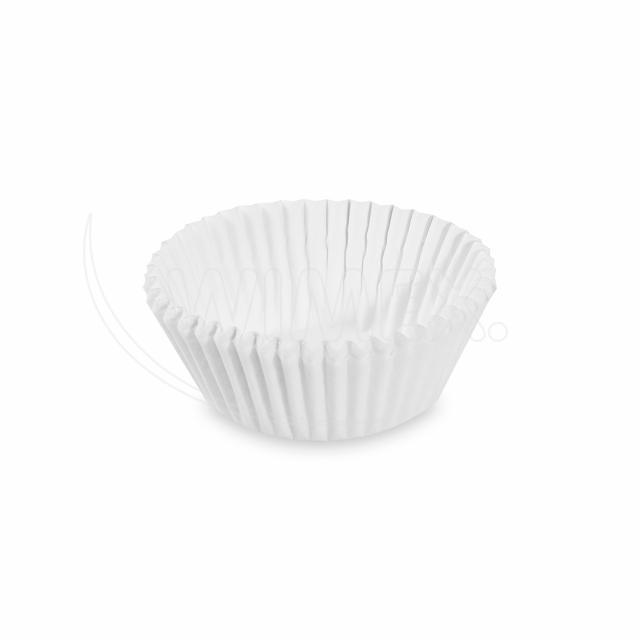 Cukrářský košíček bílý Ø 35 x 20 mm [1000 ks]