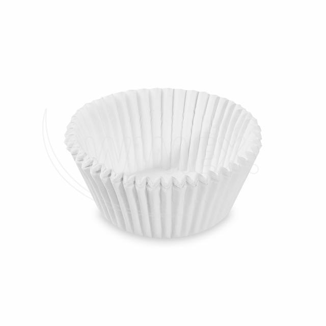 Cukrářský košíček bílý Ø 40 x 24 mm [1000 ks]
