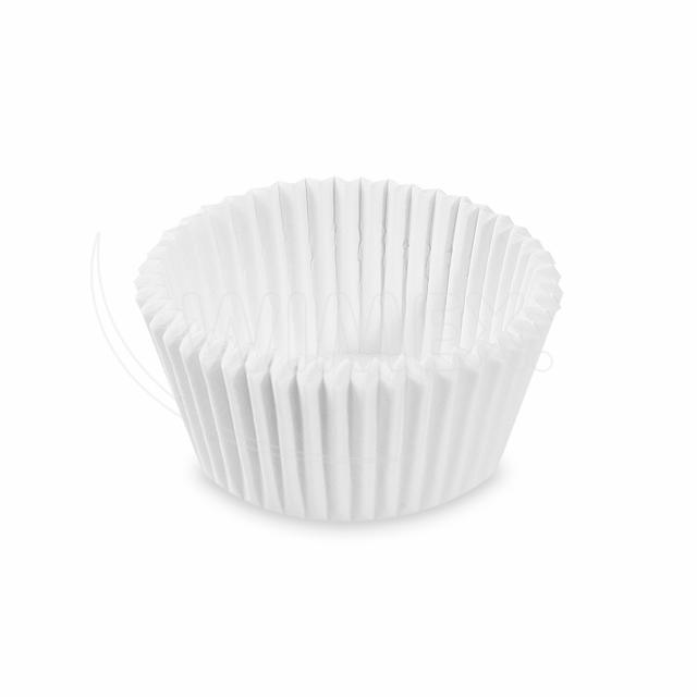 Cukrářský košíček bílý Ø 45 x 25 mm [1000 ks]