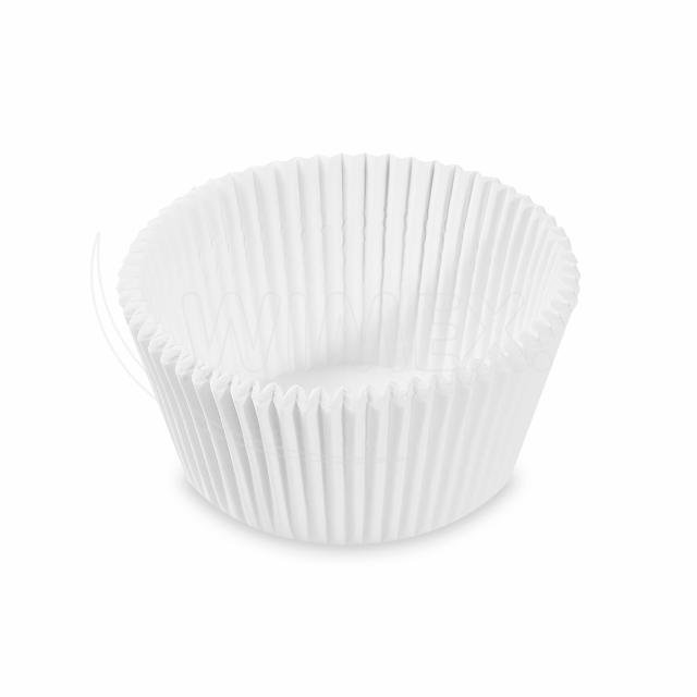 Cukrářský košíček bílý Ø 50 x 32 mm [1000 ks]