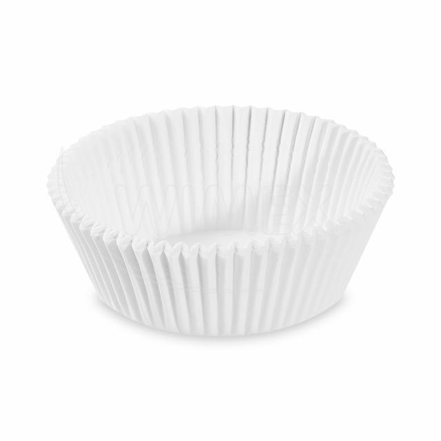 Cukrářský košíček bílý Ø 60 x 27 mm [1000 ks]