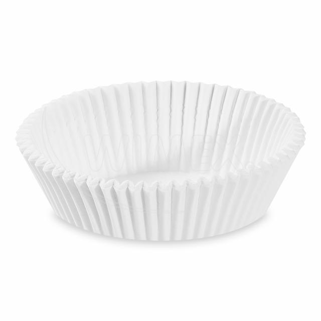 Cukrářský košíček bílý Ø 70 x 20 mm [1000 ks]