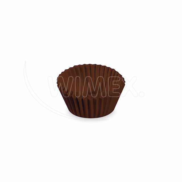 Cukrářský košíček hnědý Ø 24 x 18 mm [1000 ks]