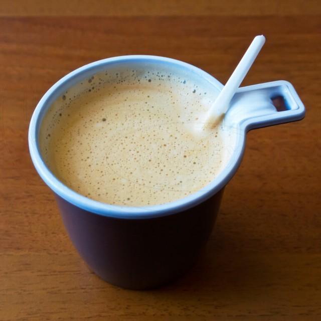 Kávová lžička malá, bílá 10,5 cm [100 ks]