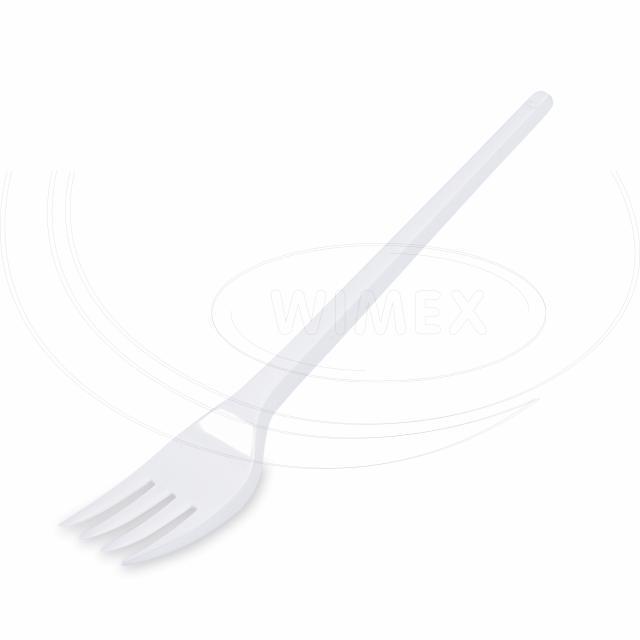 Vidlička bílá 16,5 cm [100 ks]