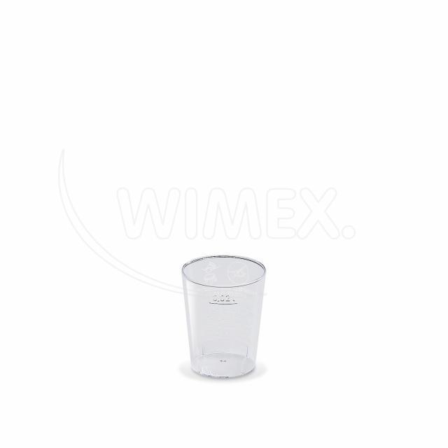 Kelímek krystal 2 cl [50 ks]