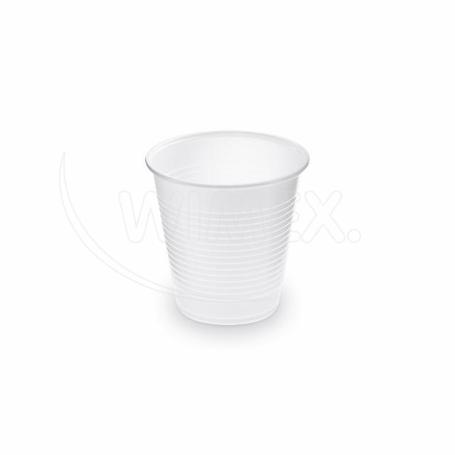 Kelímek bílý 0,15 l -PP- (Ø 70 mm) [100 ks]