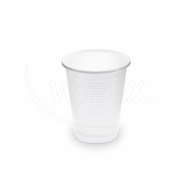 Kelímek bílý 0,18 l -PP- (Ø 70 mm) [100 ks]