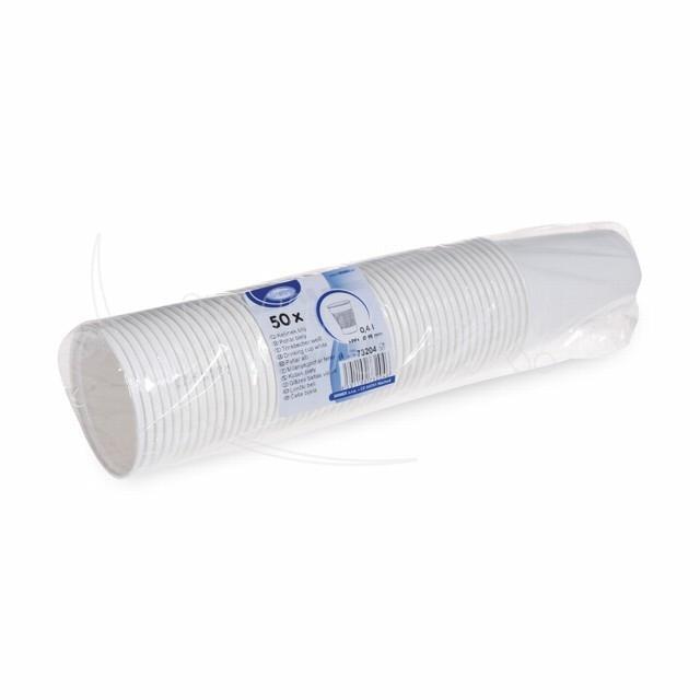 Kelímek bílý 0,4 l -PP- (Ø 95 mm) [50 ks]