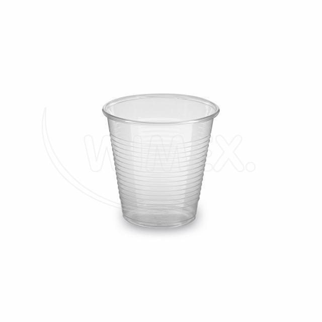Kelímek průhledný 0,15 l -PP- (Ø 70 mm) [100 ks]