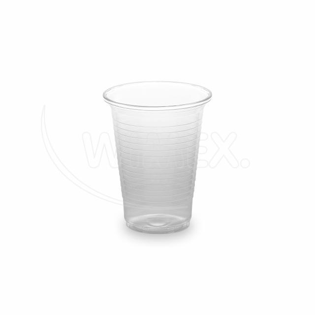 Kelímek průhledný 0,18 l -PP- (Ø 70 mm) [100 ks]