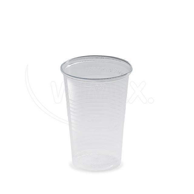 Kelímek průhledný 0,3 l -PP- (Ø 78 mm) [100 ks]