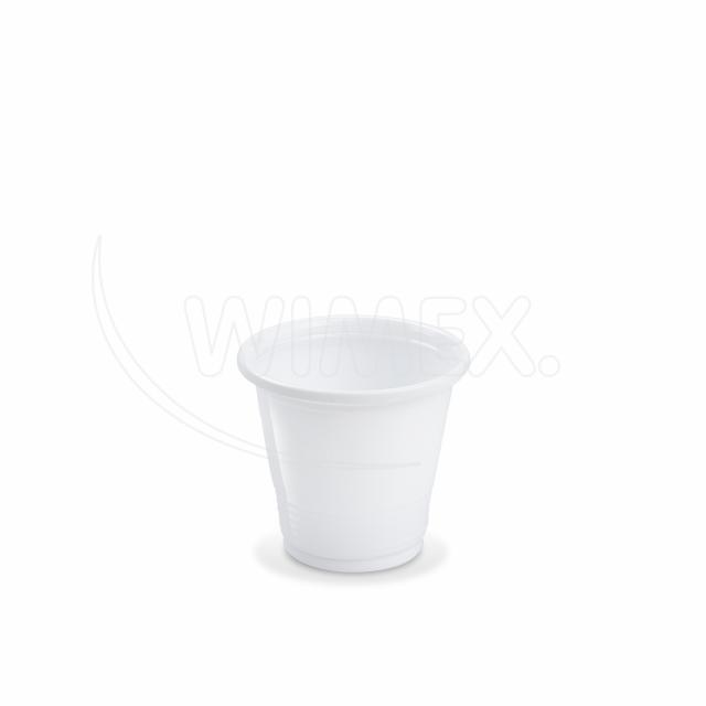 Kelímek bílý 0,08 l -PP- (Ø 57 mm) [100 ks]