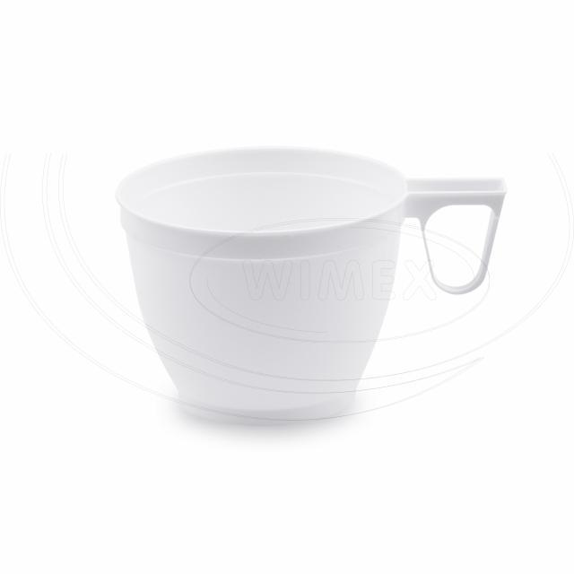 Šálek bílý s ouškem 0,18 l [60 ks]