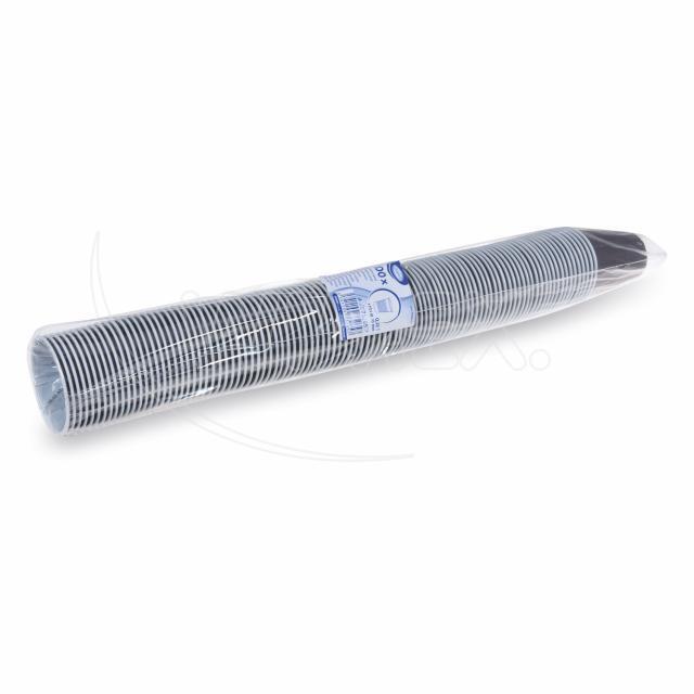 Automatový kelímek hnědo-bílý 0,15 l -PS- (Ø 70mm)[100 ks]