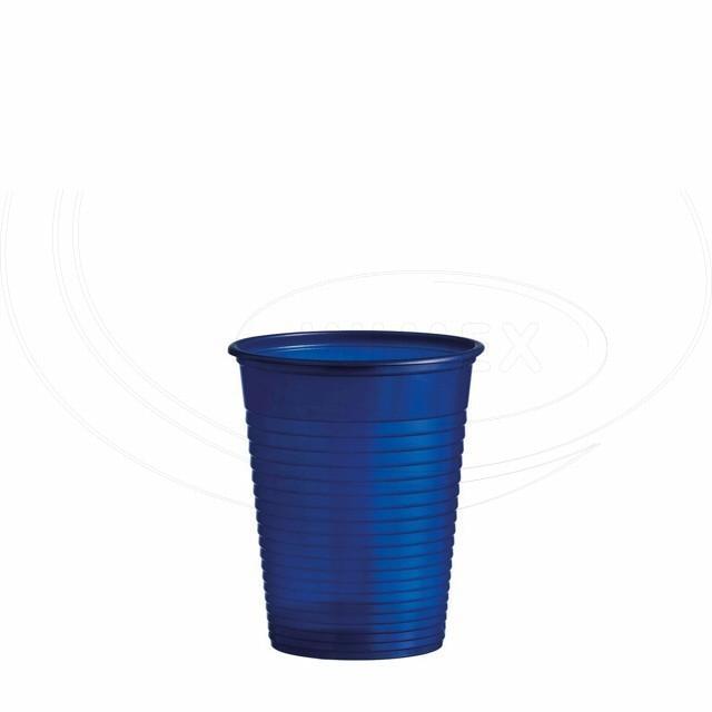Kelímek modrý 0,18 l -PS- (Ø 70 mm) [50 ks]