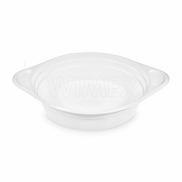 Šálek na polévku bílý (PP) 350 ml [100 ks]