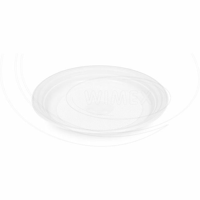 Talíř mělký, bílý (PP) Ø 17 cm [100 ks]