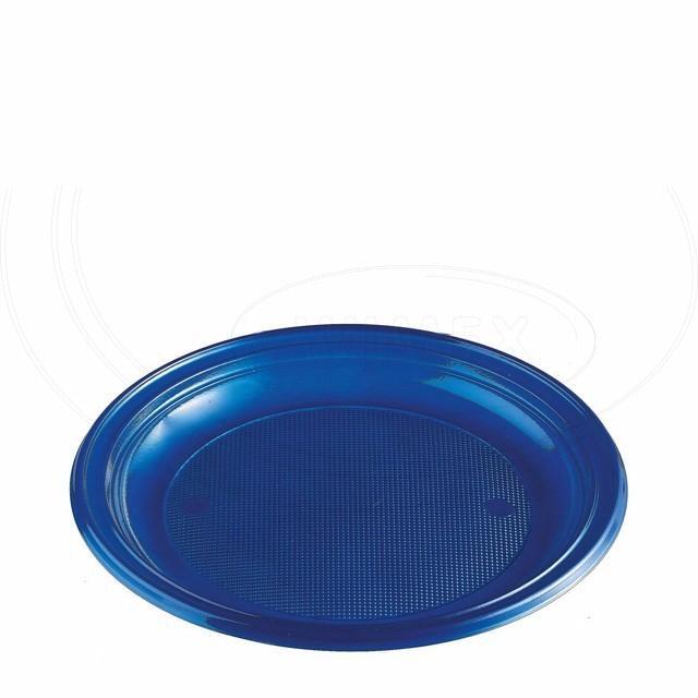 Talíř modrý (PS) Ø 22 cm [30 ks]