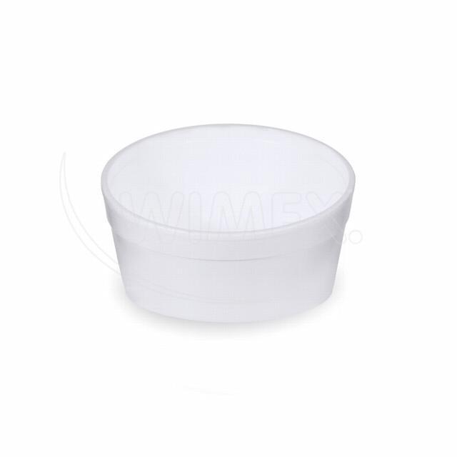 Termo-miska kulatá bílá 340 ml [25 ks]