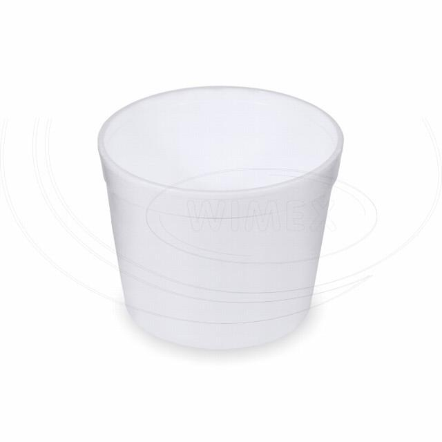 Termo-miska kulatá bílá 550 ml [25 ks]